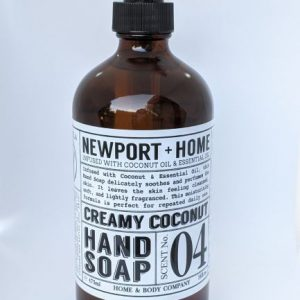 Newport + Home Creamy Coconut Hand Soap