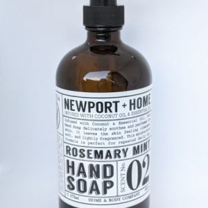 Newport + Home Rosemary Mint Hand Soap