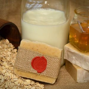 Oatmeal Goat and Honey Natural Soap