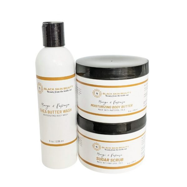 mango and papaya body spa set