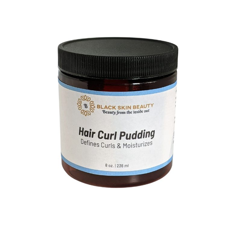 hair curl pudding